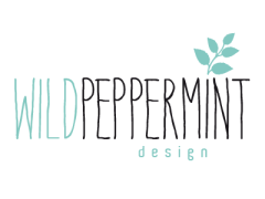 Logo Wildpeppermint-Design, Heidrun Lutz