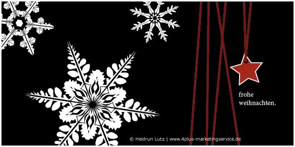 Umweltfreundliche Weihnachtskarten