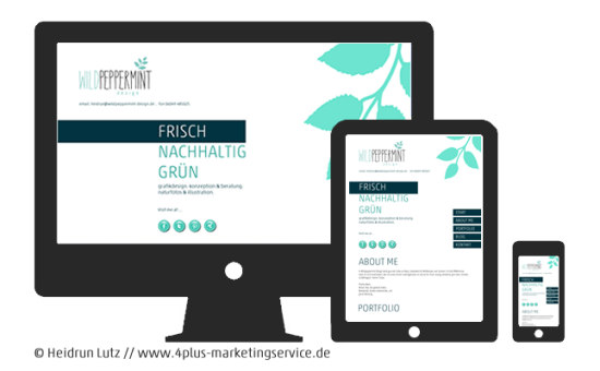 webdesign wildpeppermint design