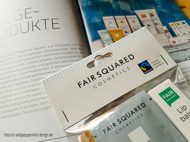 faire pflegeprodukte, fairtrade promotions, fair squardes, faire werbegeschenke