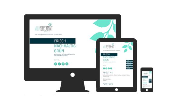 Responsive Webdesign, wildpeppermint-design