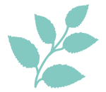 Logo Icon wildpeppermint-design.de, pfefferminzblatt, wildpeppermint-design