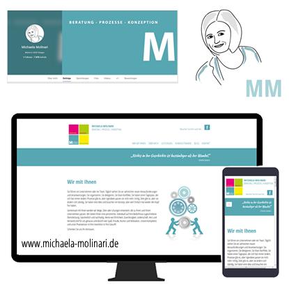 Kunden zeigen ihre Werbung im Einatz, Referenz wildpeppermint-design, Michaela Molinari
