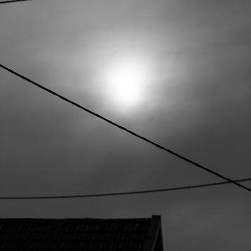 Lichtblick, abendsonne hinter wolken, sw-foto, wildpeppermint-design.de