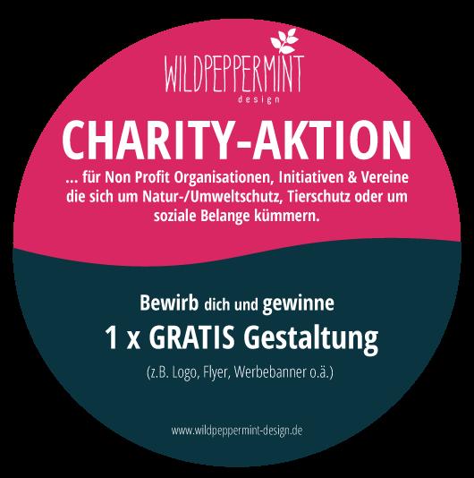 charity-aktion von wildpeppermint-design.de - gewinne eine gratis gestaltung, für Umweltschutz, Naturschutz, Initiativen