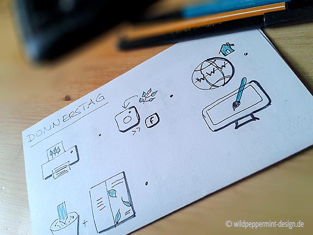 Sketchnotes Beispiel wildpeppermint-design.de