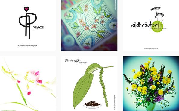 Instagram wildpeppermint-design.de, illustrationen, fotos, grafikdesign, webdesign, naturfotos, vielfalt, vielfältigkeit, natürlich, kreativ