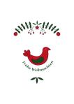 Weihnachtskarte Scandi Style