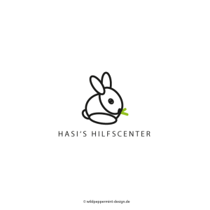 Logo Hase, © wildpeppermint-design.de