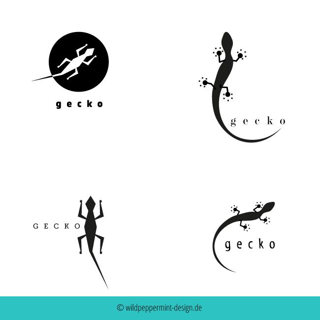 Logos Gecko © wildpeppermint-design.del