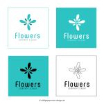 Logo Blume © wildpeppermint-design.del