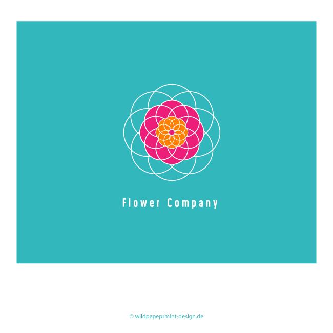 Logo-FlowerPower, © wildpeppermint-design.de