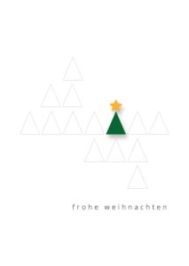 Motiv-32 Weihnachtsbaum geometrisch, wildpeppermint-design.de