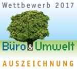 Wettbewerb Büro & Umwelt 2017, Auszeichnung wildpeppermint-design.de