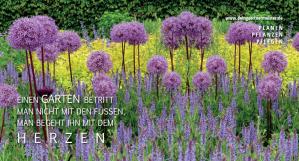 Postkarte für Andreas Röder, Gärtnermeister, wildpeppermint-design.de