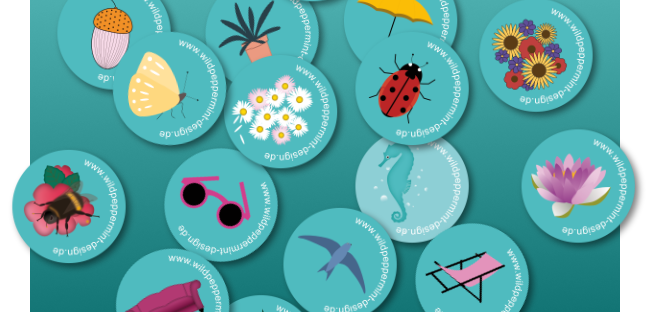 Sticker, Werbung mit Stickern