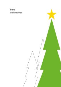 Weihnachtskarte No 5- © wildpepeprmiont-design.de