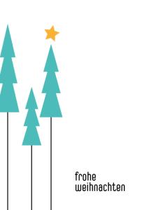 Weihnachtskarte No 2 - © wildpepeprmiont-design.de