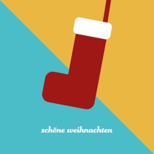 umweltfreundliche Weihnachtskarten, minimal, geometrisch, wildpeppermint-design.de